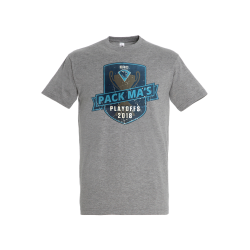 T-Shirt - Playoffs 2018 - grau - Gr. L